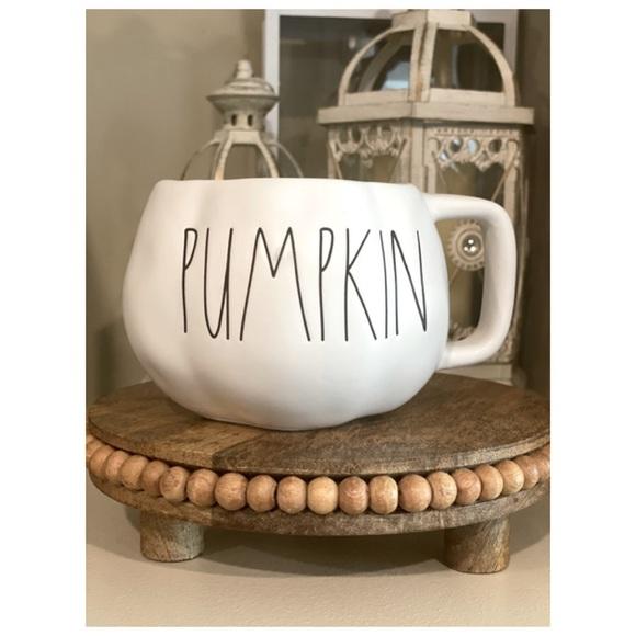 "Rae Dunn ""PUMPKIN"" Shaped Mug"